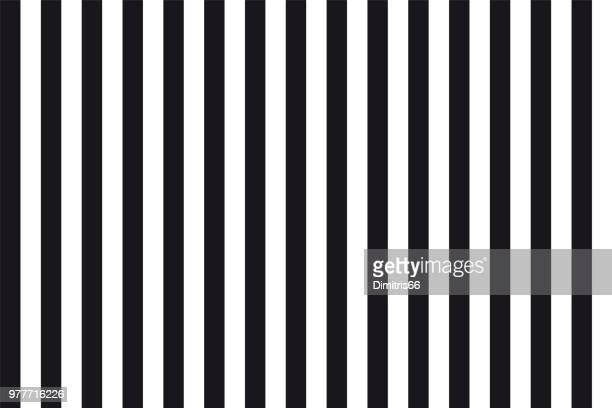 abstract seamless background of black and white parallel vertical lines - line stock illustrations