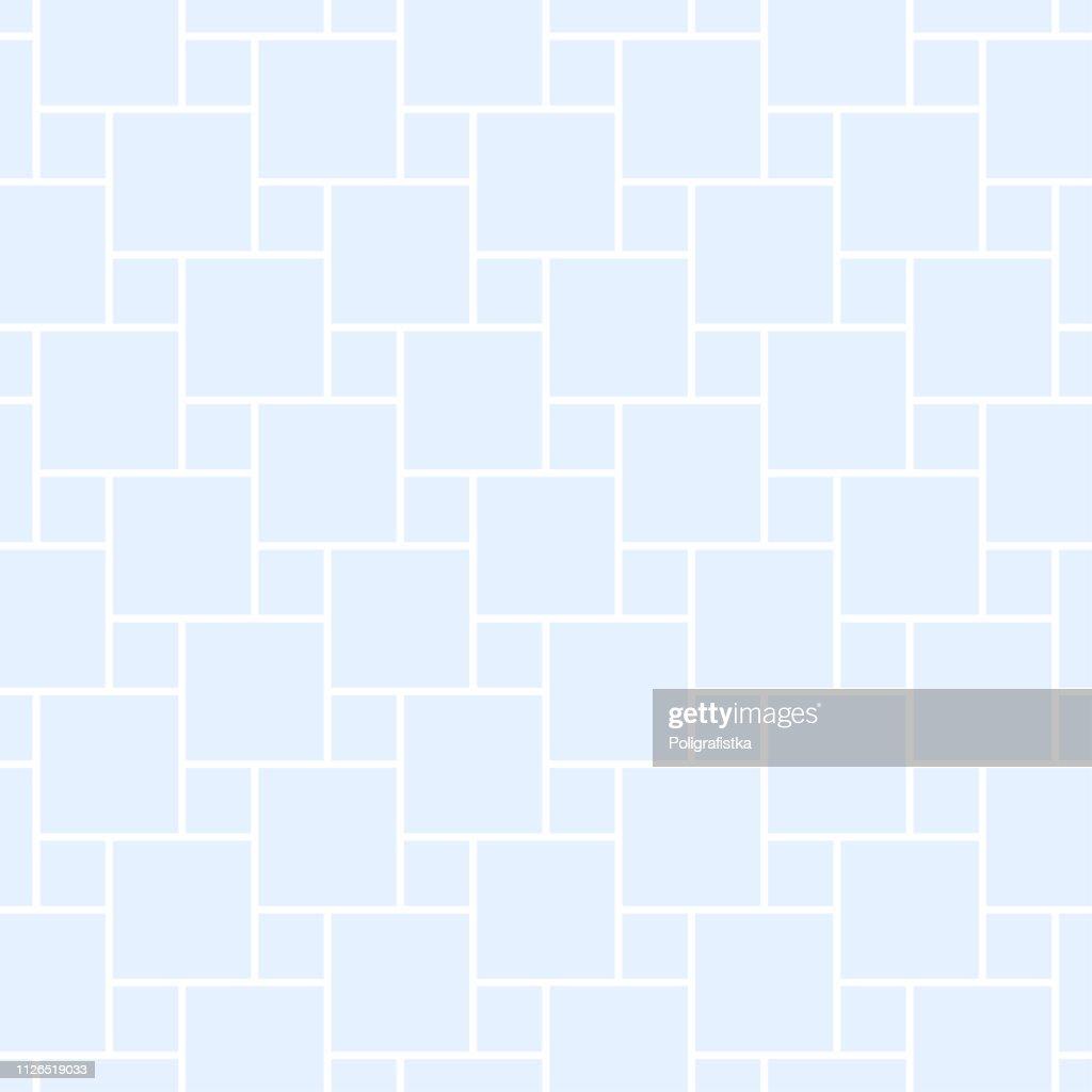 抽象的なパターン 青のシームレスな背景の壁紙 ベクトル イラスト