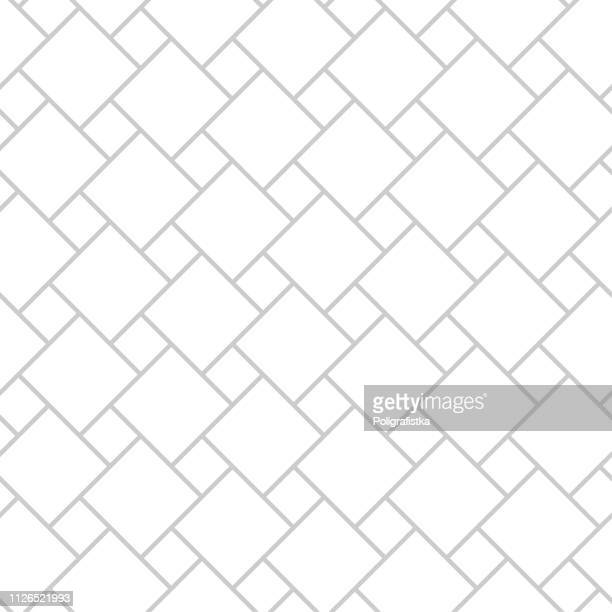 Abstract seamless background pattern - gray wallpaper black and white - vector Illustration