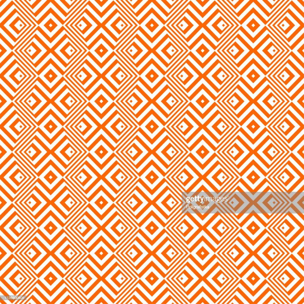 抽象的なパターン オレンジのシームレスな背景の壁紙 ベクトル