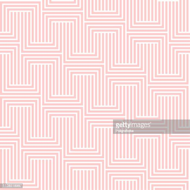 abstract seamless background pattern - pink wallpaper - vector illustration - rose colored stock illustrations