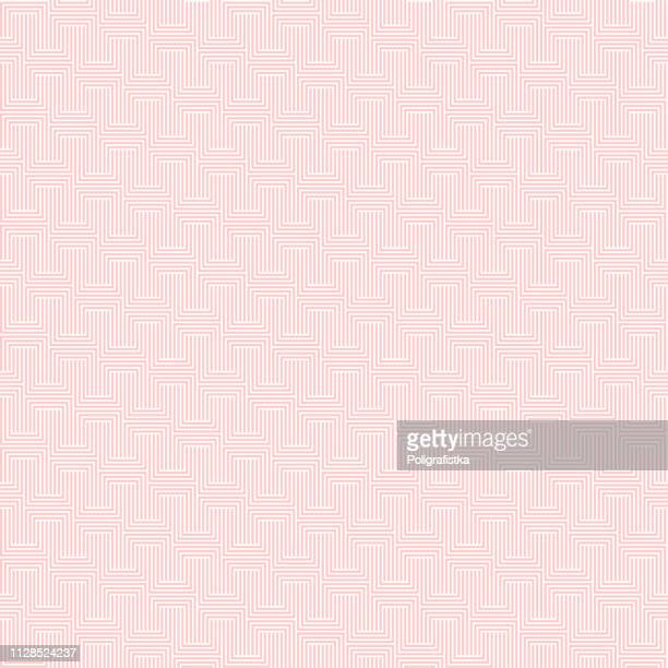 abstract seamless background pattern - pink wallpaper - vector illustration - pink background stock illustrations, clip art, cartoons, & icons