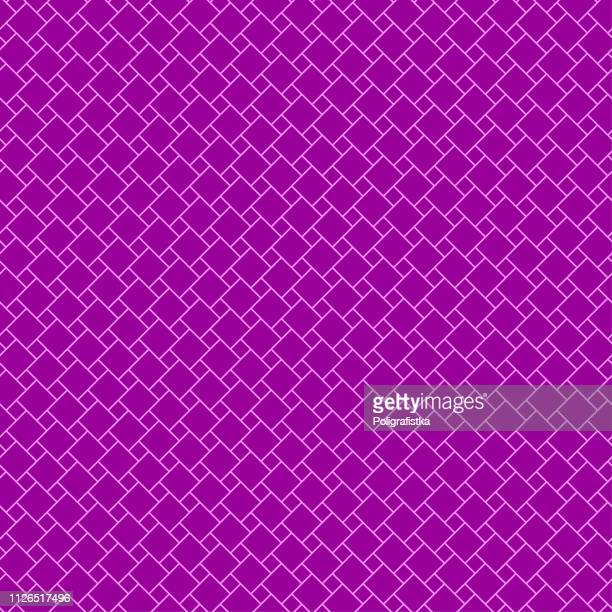 Abstract seamless background pattern - purple wallpaper - vector Illustration