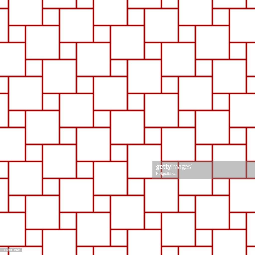 抽象的なパターン 赤のシームレスな背景の壁紙 ベクトル イラスト
