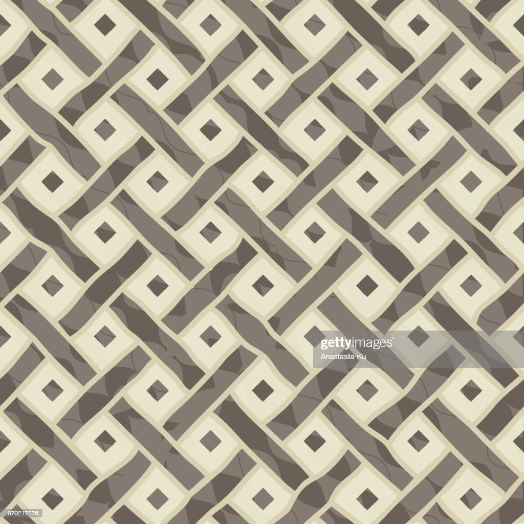 Abstract seamless geometric pattern on texture background