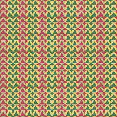 Abstract seamless geometric pattern with city elements frayed sprays triangles neon paint colored high-quality vector illustration in graffiti style for your design