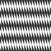Abstract seamless pattern of inclined rhombuses.