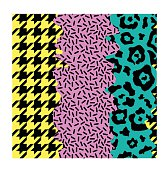abstract seamless pattern pop art style