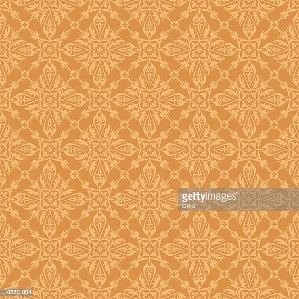 abstract seamless pattern - embellishment stock illustrations