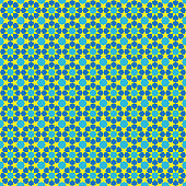 Abstract seamless patterns in Islamic style