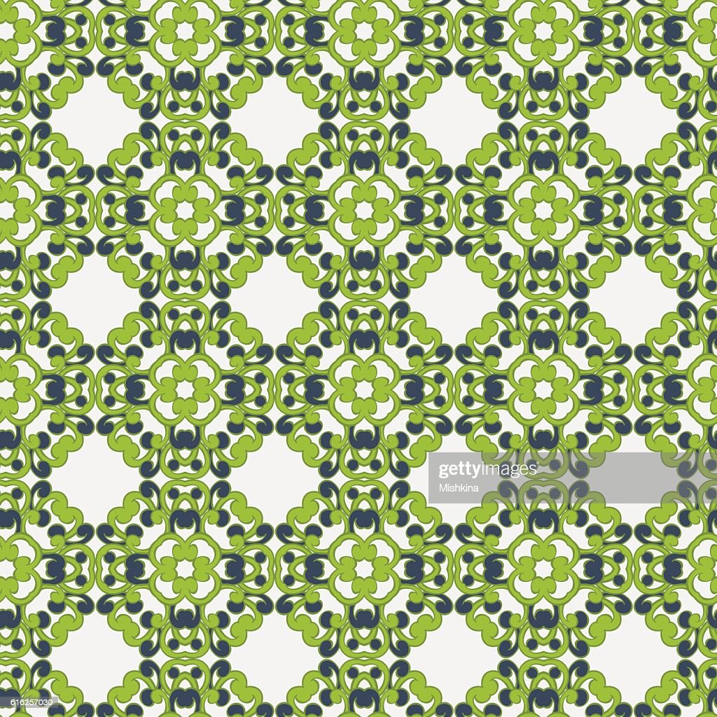 abstract seamless vector pattern. retro geometric vector background : Vector Art