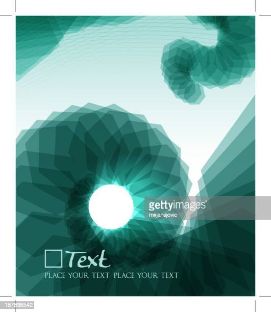 abstract shell - nautilus stock illustrations