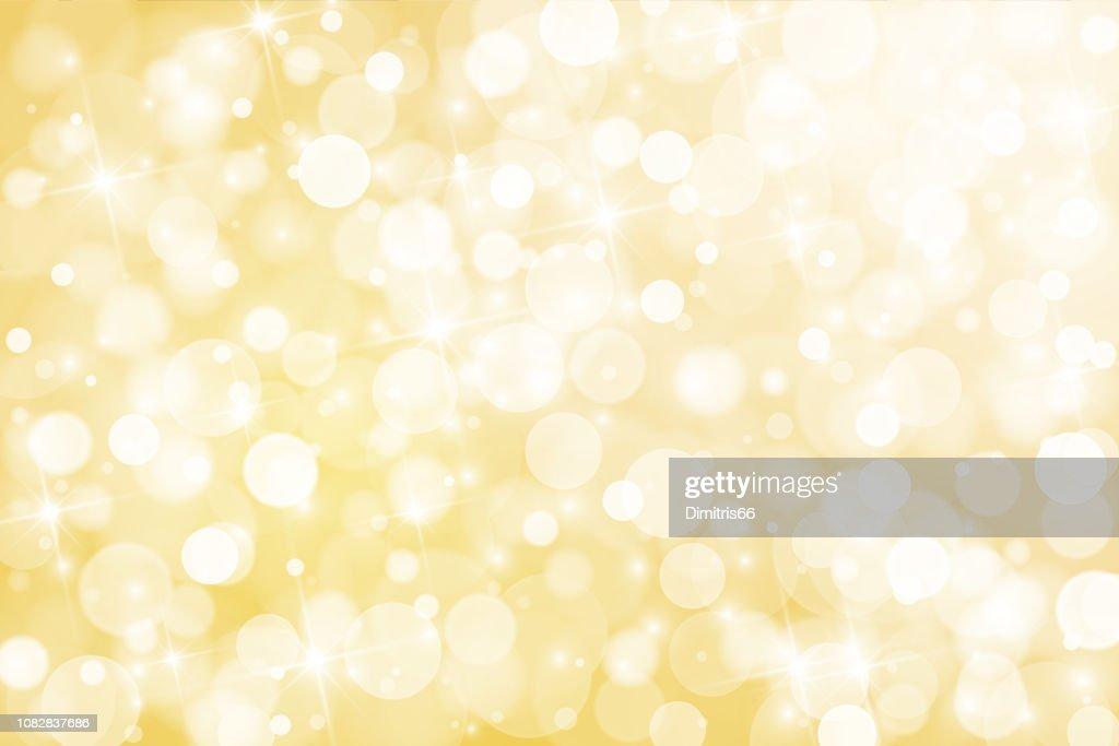 光沢のあるゴールドの抽象的な背景 : ストックイラストレーション