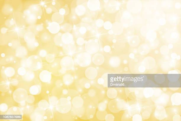 abstract shiny gold background - illuminated stock illustrations