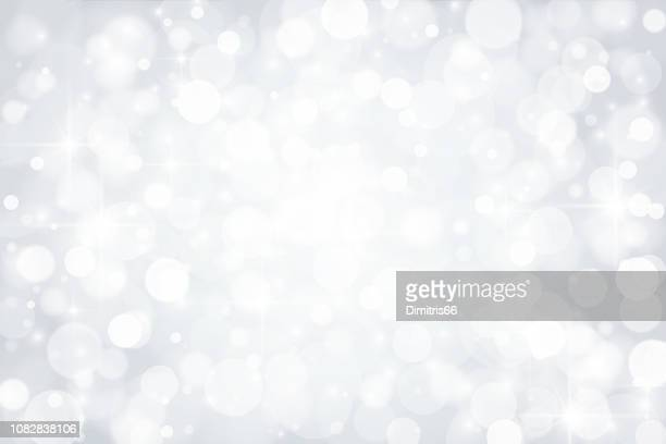 abstract shiny silver background - backgrounds stock illustrations