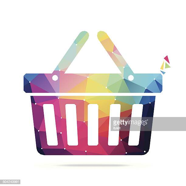 Abstract Shopping Basket