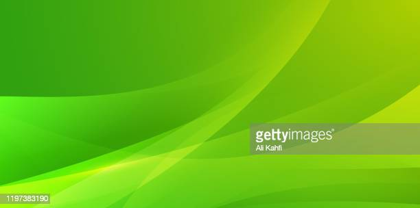 abstract simple modern waving background - green colour stock illustrations