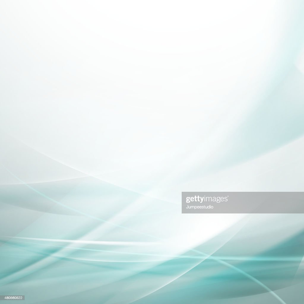 Abstract smooth bright flow background for tech or science : Vector Art