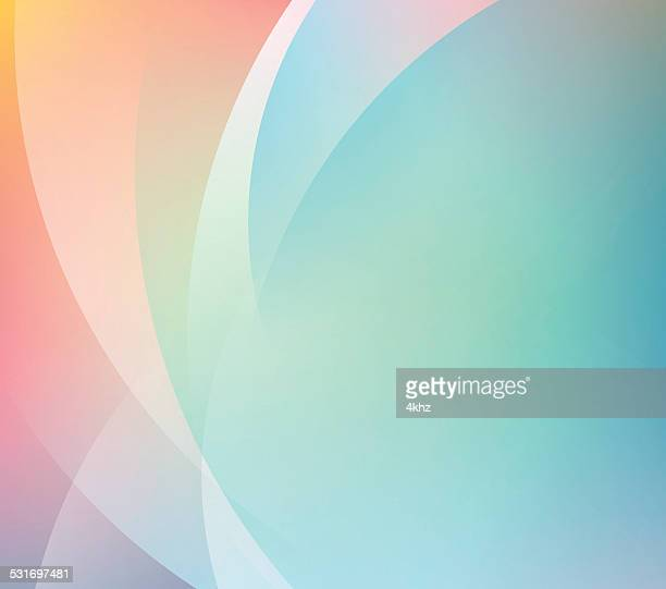 Abstract Smooth Color Gradient Stock Vector Background