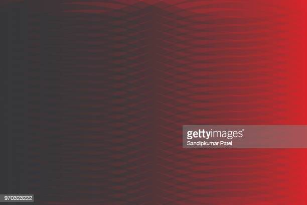 abstract smooth wave line red background - signal flare stock illustrations, clip art, cartoons, & icons