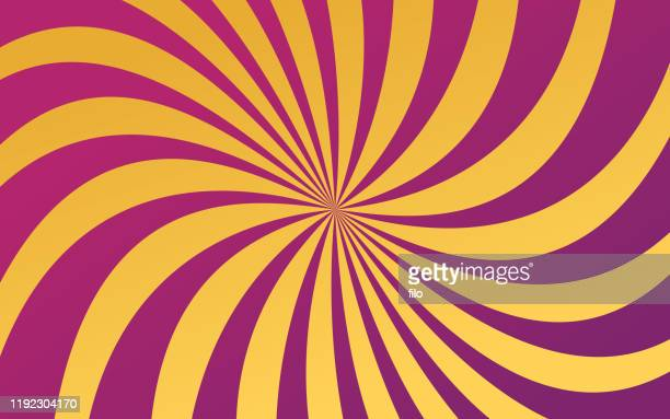 abstract spiraling background - hypnosis stock illustrations