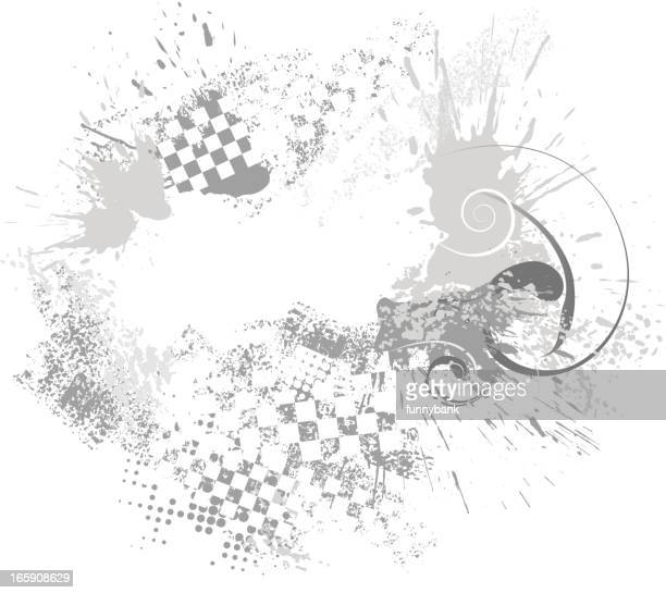 abstract sports race backround - go carting stock illustrations, clip art, cartoons, & icons