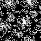 Abstract spring floral background