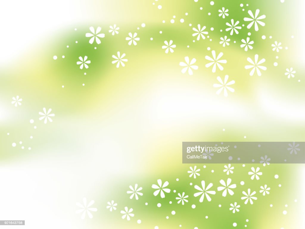 Abstract springtime seamless background, vector illustration.