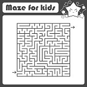 abstract square maze an interesting useful
