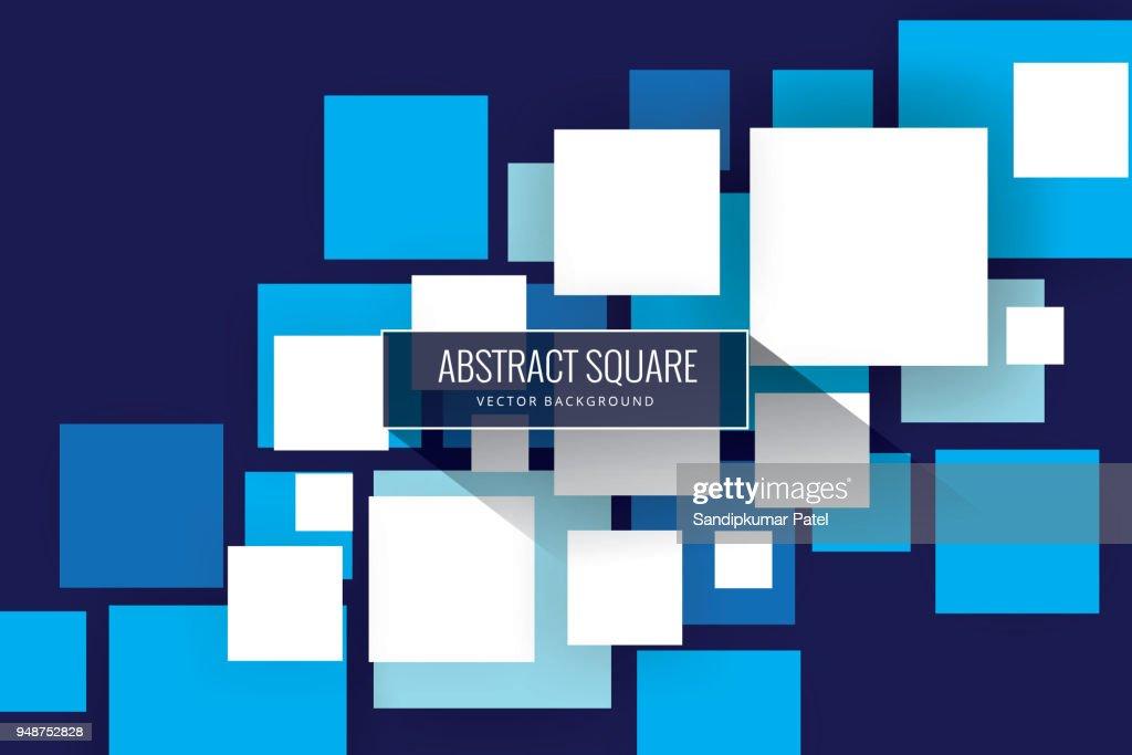 Sfondo quadrati astratti : Illustrazione stock