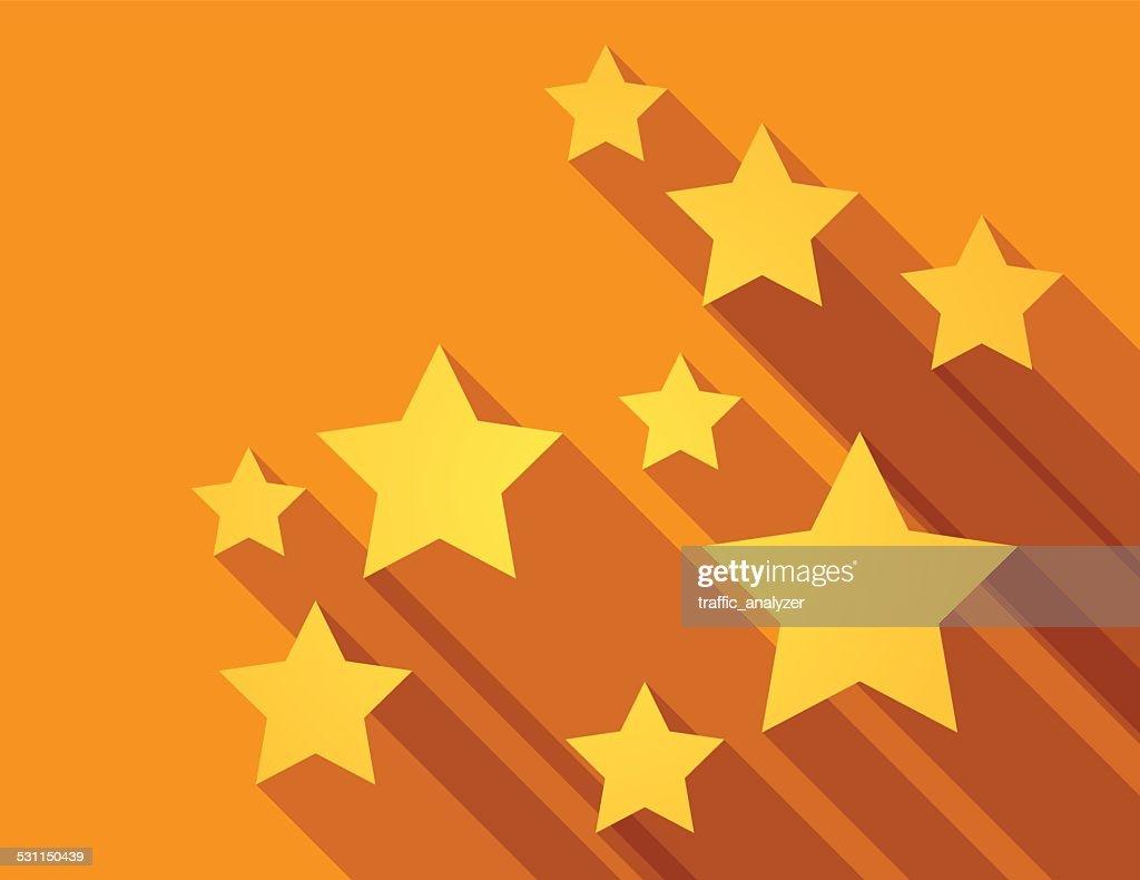 Abstract stars background : stock illustration
