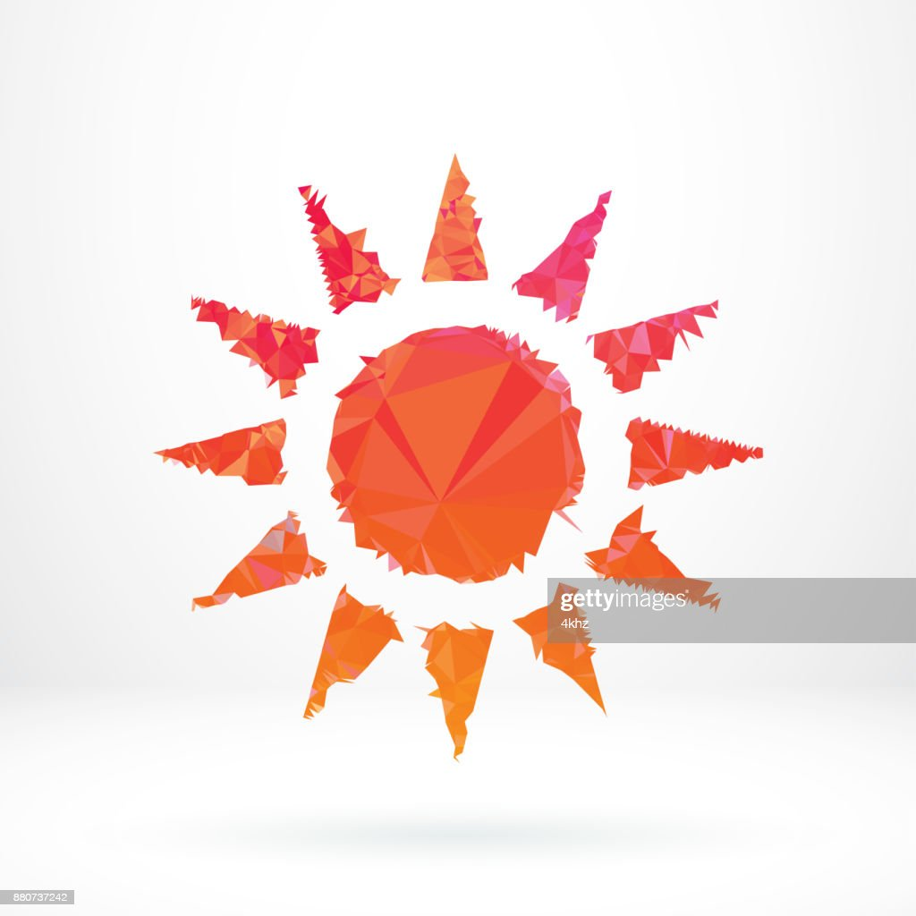 Abstract sun symbol polygon graphic design element vector art abstract sun symbol polygon graphic design element vector art buycottarizona Images