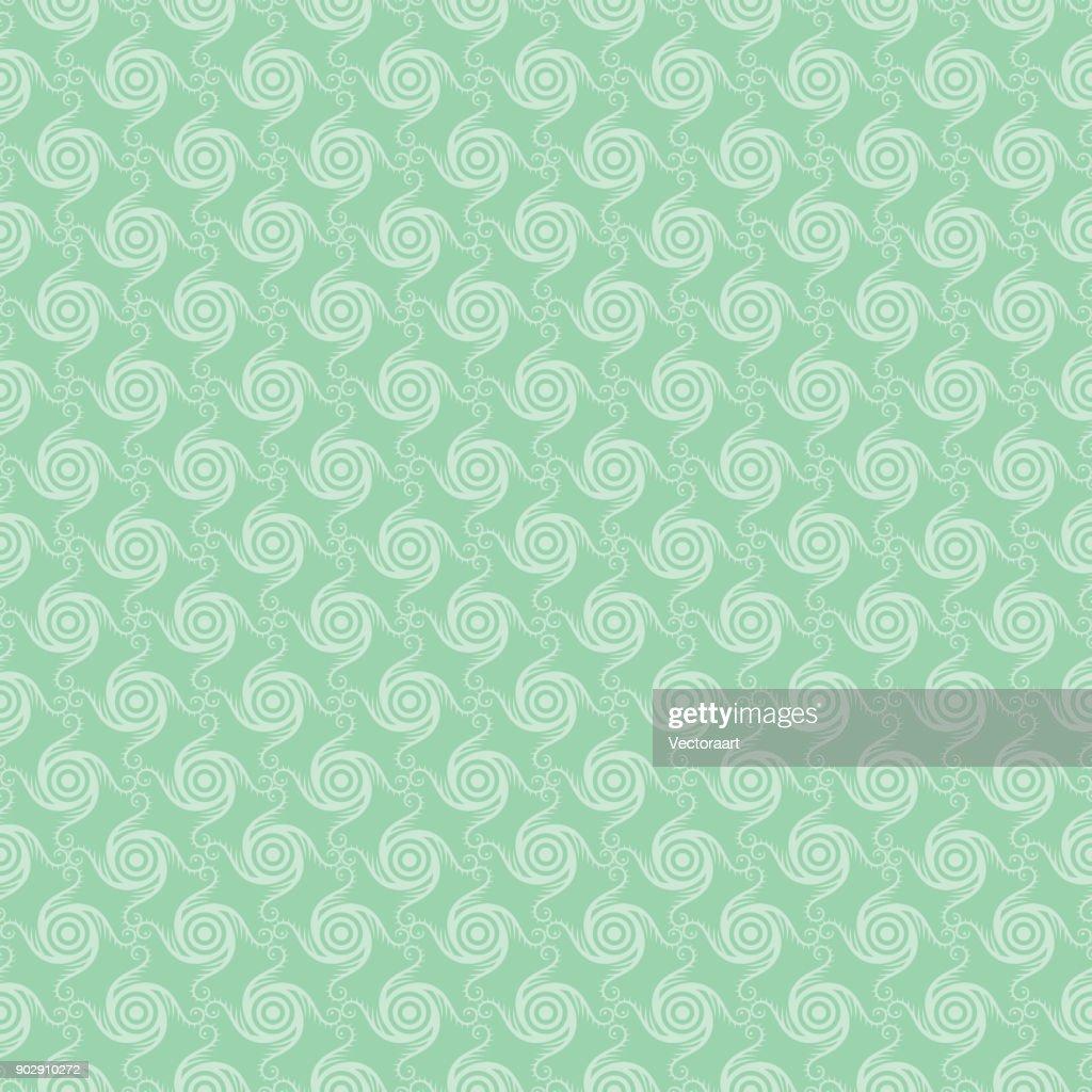 abstract swirl shape rotate pattern