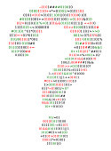 Abstract symbol question mark, source code