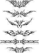 Abstract Tattoo Set