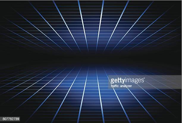 abstract technical background - grid stock illustrations, clip art, cartoons, & icons