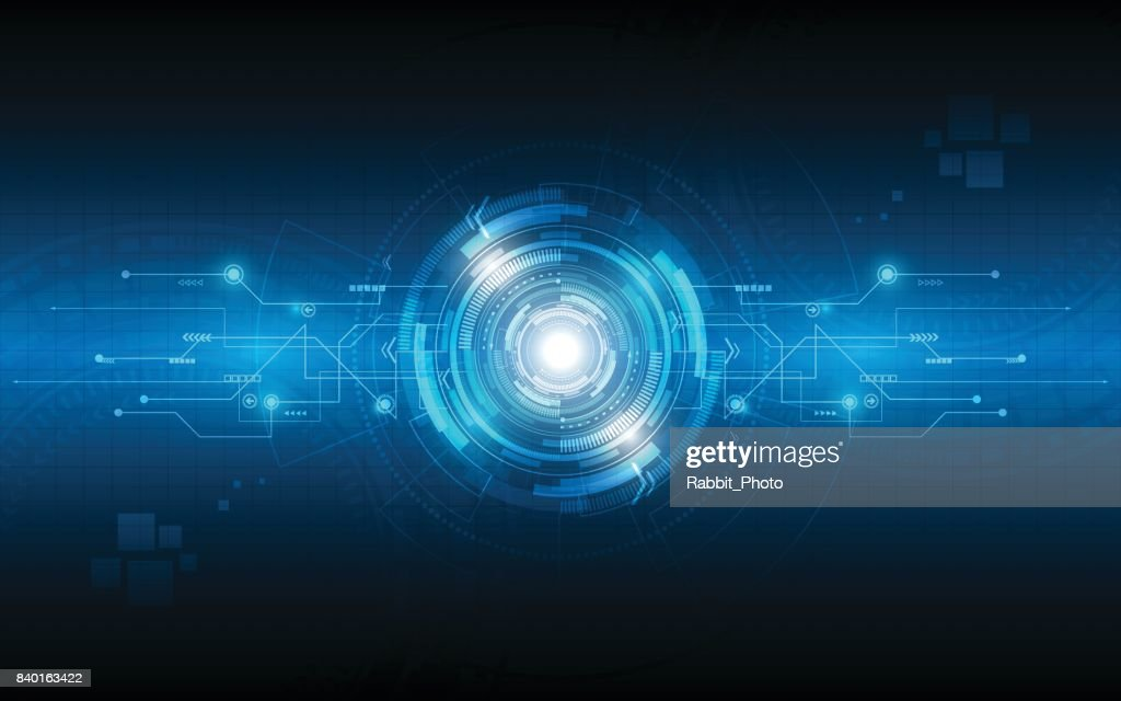 Abstract technology background communication concept innovation vector illustration