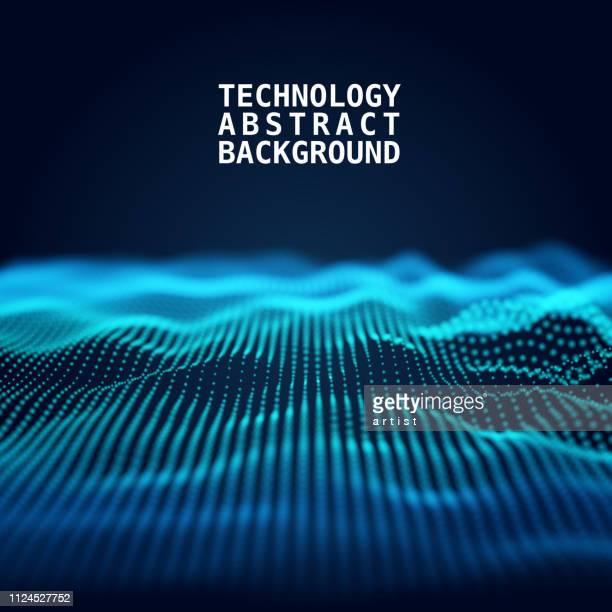 abstract technology background - technology stock illustrations, clip art, cartoons, & icons