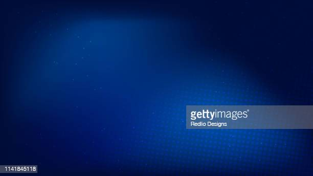 abstract technology background - blue background stock illustrations