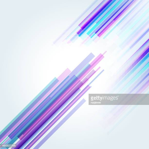 abstract technology background - purple stock illustrations