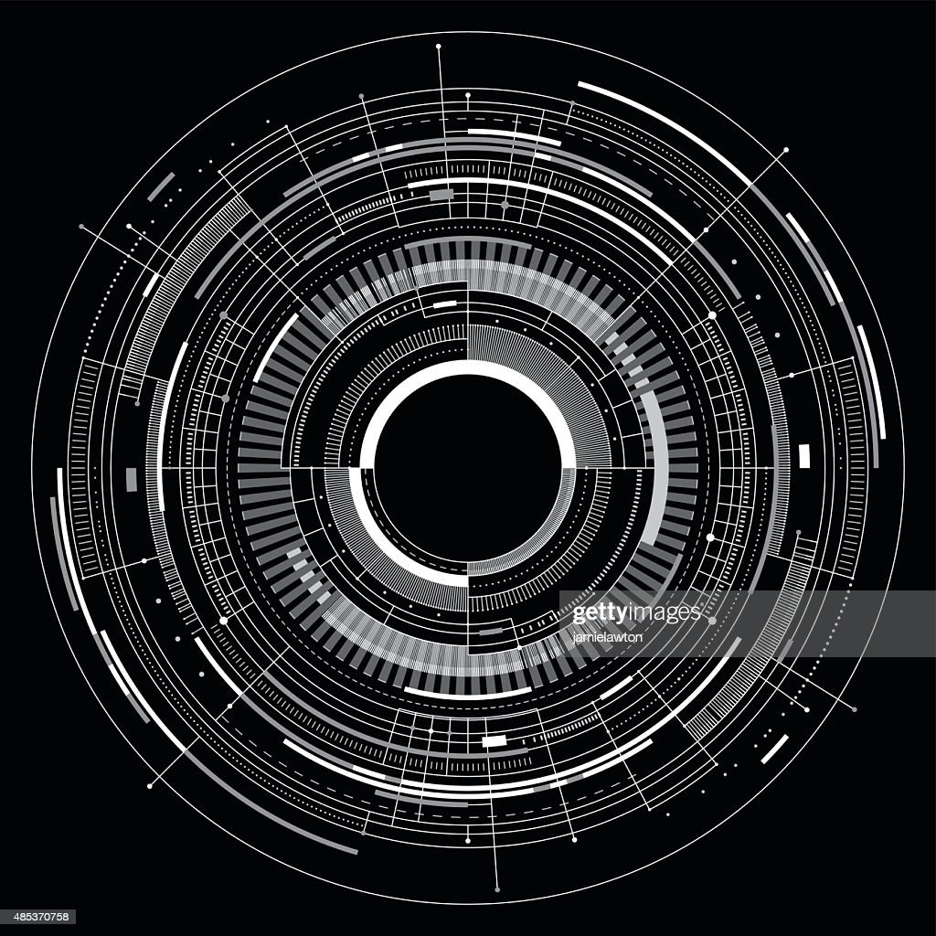Abstract Technology Background : Illustrationer