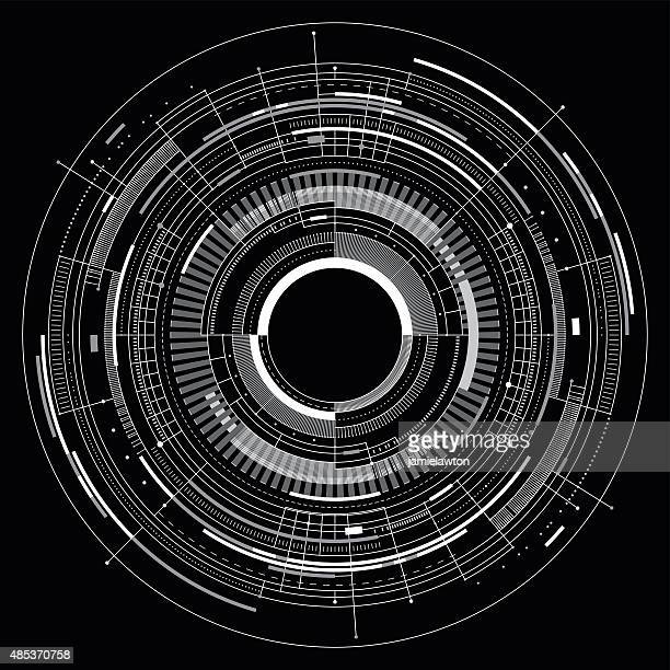 abstract technology background - physics stock illustrations