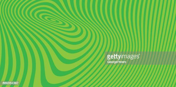Abstrakte Technik Hintergrund mit konzentrischen Halbton-Muster