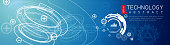Abstract Technology Banner