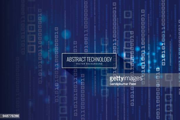 抽象的な技術バイナリ コードの背景 - ゼロ点のイラスト素材/クリップアート素材/マンガ素材/アイコン素材