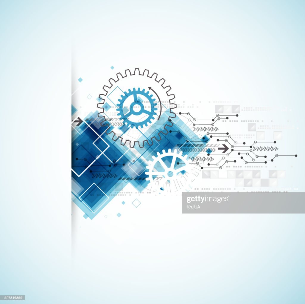 Abstract technology business background