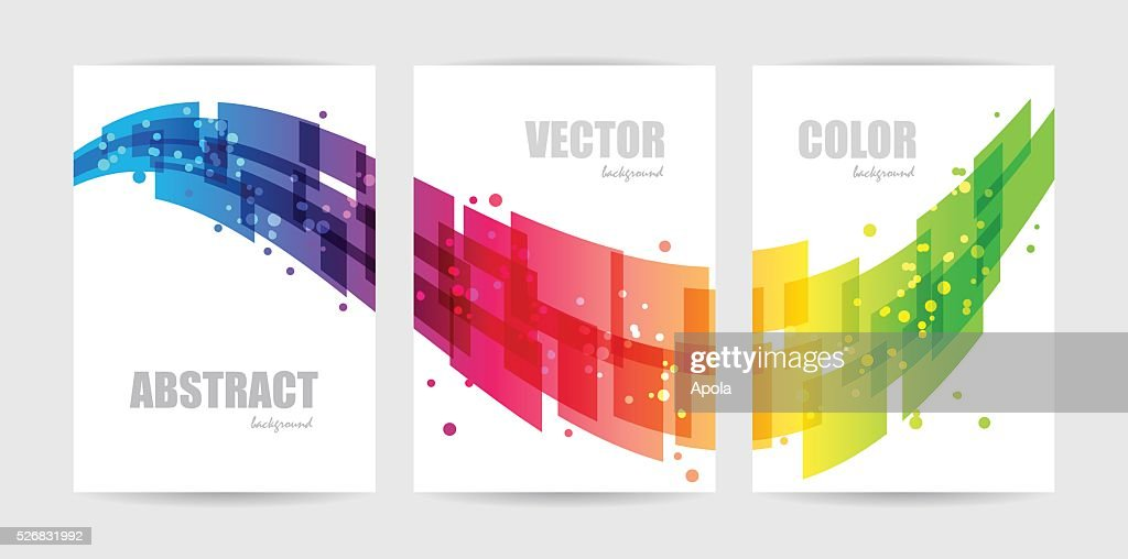 Abstract technology, business template