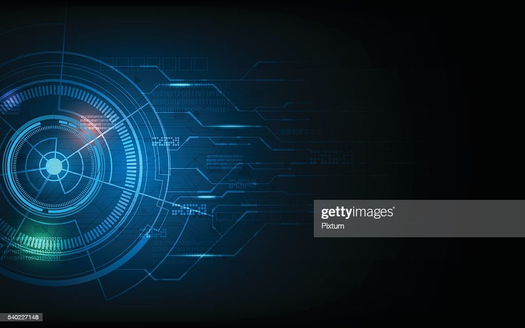abstract technology innovation concept future futuristic design background
