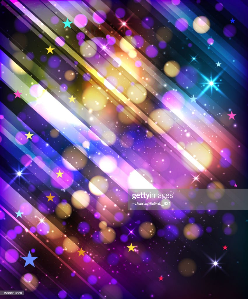 Abstract texture, light bokeh vector background
