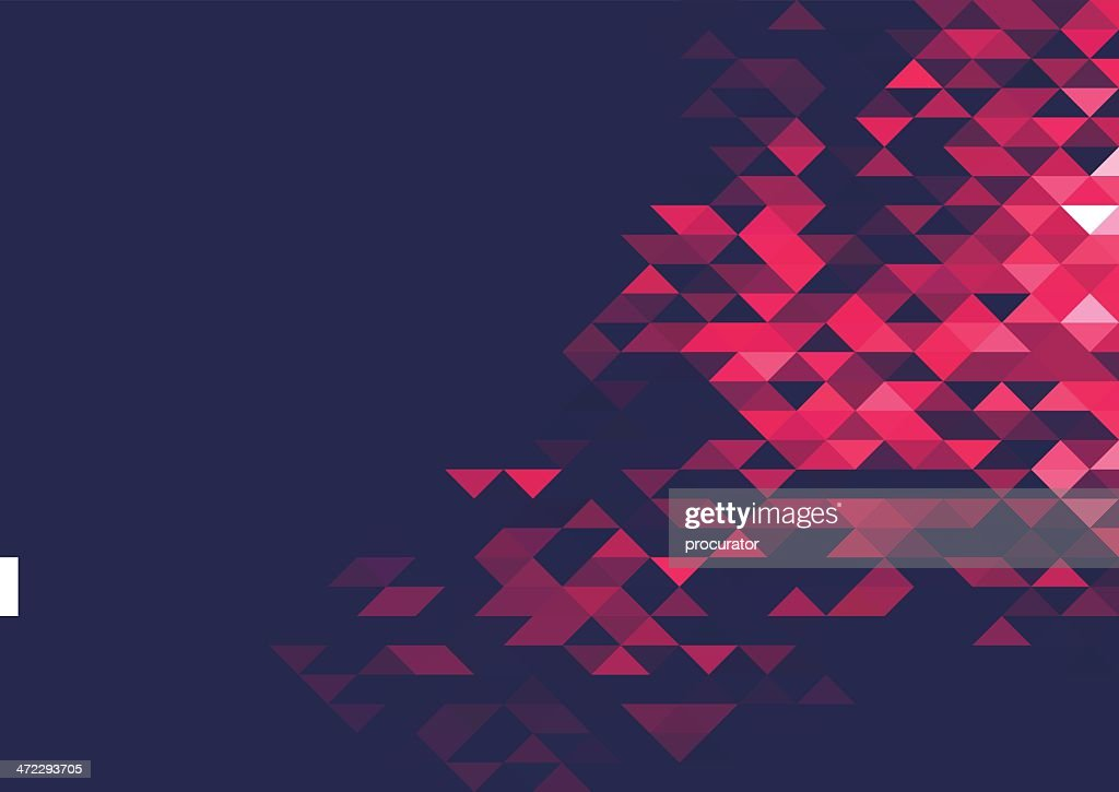 Abstract triangle background : stock illustration